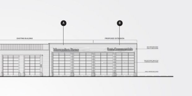 DELEGATED APPROVAL FOR EXTENSION TO COMMERCIAL UNIT